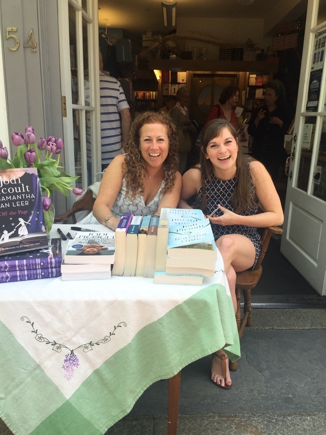 Book signing in Nantucket for OFF THE PAGE