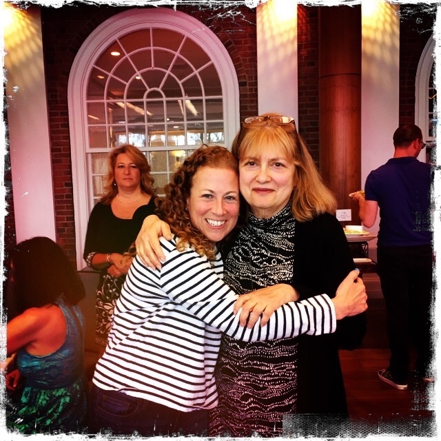 With my favorite author, Alice Hoffman