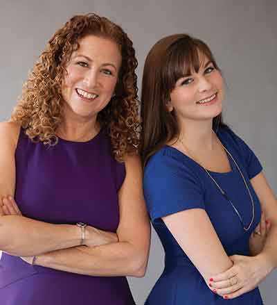 authors Jodi Picoult and  Samantha van Leer